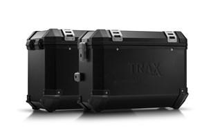 Bild von TRAX ION Alukoffer-System. Schwarz. 37/45 l. Moto Guzzi V85 TT (19-).