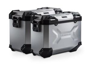 Bild von TRAX ADV Alukoffer-System. Silbern. 37/45 l. Moto Guzzi V85 TT (19-).