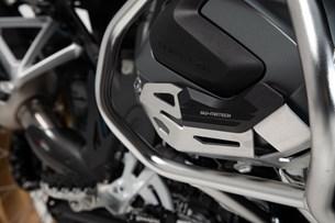 Bild von Zylinderschutz. Schwarz/Silbern. BMW R 1250 GS/Adv, R 1250 RS/ RT.