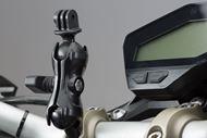 "SW-MOTECH Universal GoPro Kamera-Kit. Inkl. 1"""" Kugel, Klemmarm, GoPro-Aufnahme."