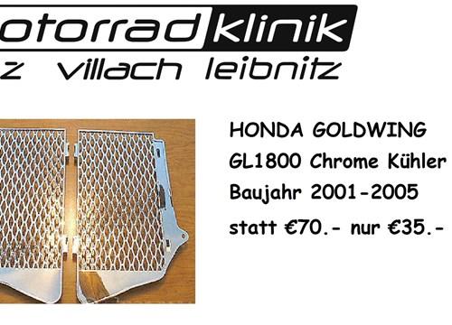 Kühlergrill Honda Goldwing GL1800 Baujahr 2001-2005 statt €70.- nur €35.-