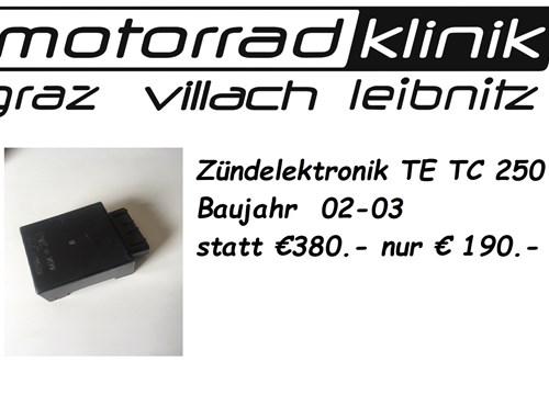 Zündelektronik TE TC 250 Baujahr 02-03 statt €380.- nur € 190.-