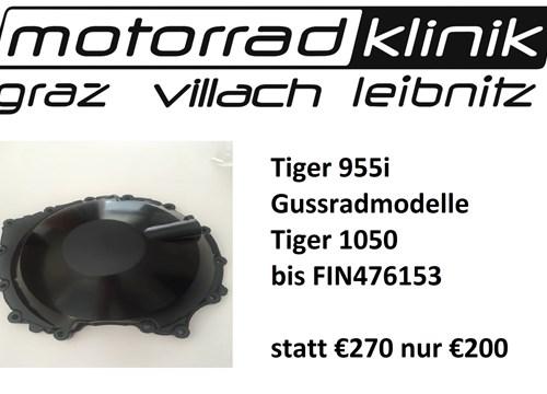 Kupplungsdeckel Tiger 955i Gussradmodelle Tiger 1050 bis FIN476153 statt € 270 nur €200