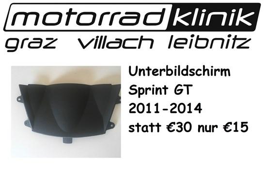 Triumph Unterbildschirm Sprint GT 2011-2014 statt €30 nur €15