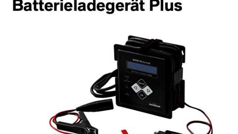 BMW Motorrad Batterieladegerät