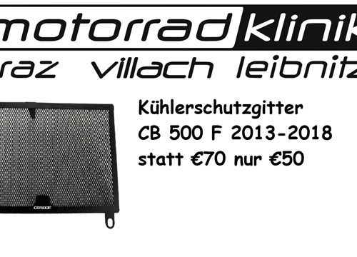 Kühlerschutzgitter CB 500 F 2013-2018 statt €70 nur €50