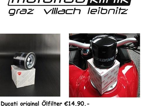 ÖLFILTER original €14,90 Multistrada/ Monster/Scrambler/Hypermotard .....