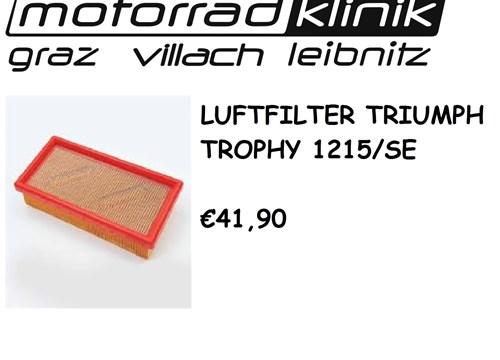 LUFTFILTER Trophy 1215/SE €41,90