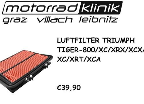 LUFTFILTER TIGER 800/XC/XRX/XCX/XR/XC/XRT/XCA €39,90