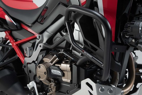 SW-MOTECH Sturzbügel. Schwarz. Honda CRF1100L Africa Twin (19-).