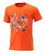 KIDS RADICAL TEE ORANGE