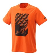 RADICAL LOGO TEE ORANGE
