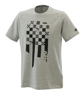 RADICAL SQUARE TEE GREY MELANGE