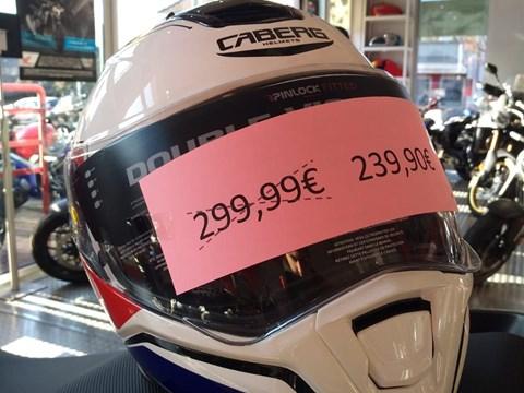 Motorradhelm von Caberg Größe L neu