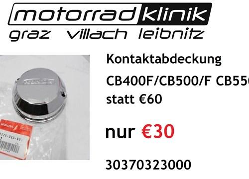 Kontaktabdeckung CB400F/CB500/F CB550K statt €60 nur €30