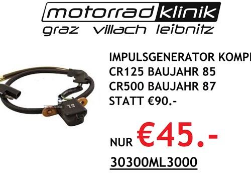 IMPULSGENERATOR KOMPL. CR125 BAUJAHR 85 CR500 BAUJAHR 87 STATT €90.- NUR €45.-