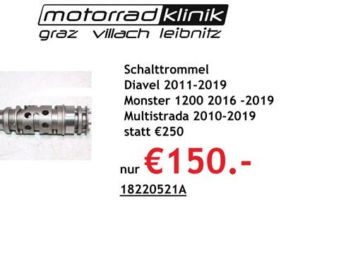 Schalttrommel Diavel 2011-2019 Monster 1200 2016 -2019 Multistrada 2010-2019 statt €250 nur €150.-