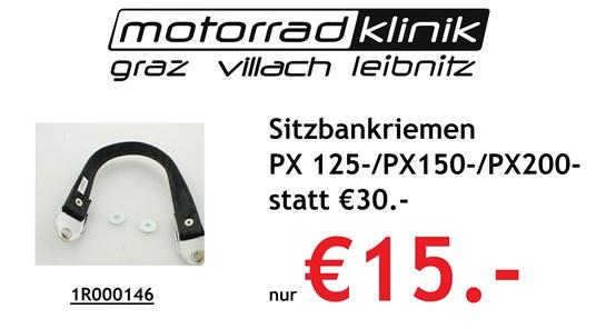 Piaggio Sitzbankriemen PX 125-/PX150-/PX200- statt €30 nur €15.-