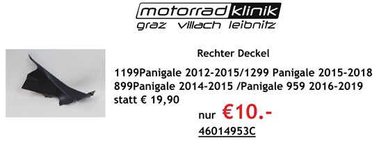 Ducati Rechter Deckel 1199 Panigale 2012-2015 1299 Panigale 2015-2018 899 Panigale 2014-2015 Panigale 959 2016-2019