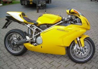 Leihmotorrad Ducati 999S
