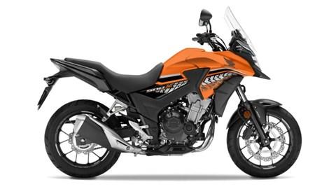 Leihmotorrad Honda CB500X