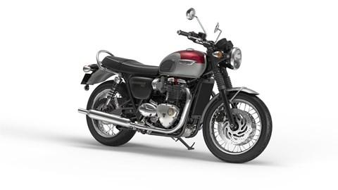 Leihmotorrad Triumph Bonneville T120