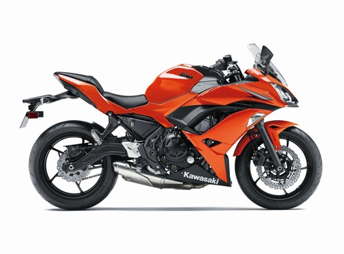 VERLEIH Kawasaki Ninja 650