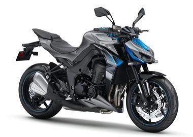 Leihmotorrad Kawasaki Z1000