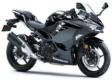 Leihmotorrad Kawasaki Ninja 400