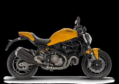 Leihmotorrad Ducati Monster 821
