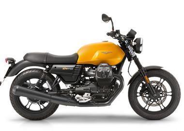 Leihmotorrad Moto Guzzi V7 III Stone
