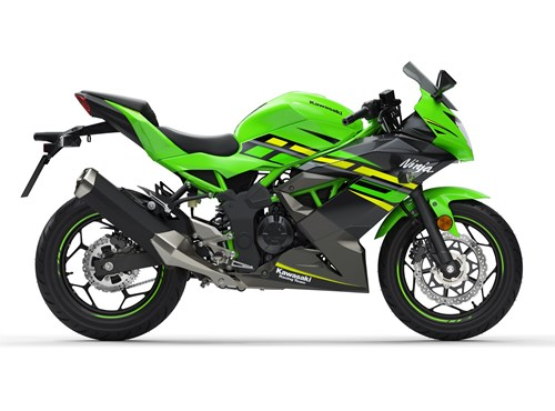 VERLEIH Kawasaki Ninja 125