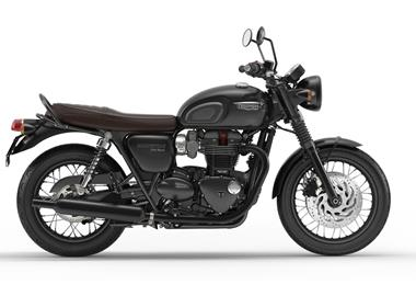 Leihmotorrad Triumph Bonneville T120 Black