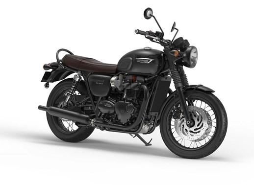 Verleihmotorrad Triumph Bonneville T120 Black vom Händler