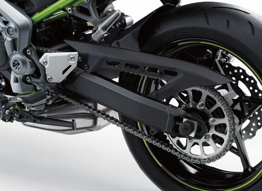 Verleihmotorrad Kawasaki Z900 vom Händler Motospeed