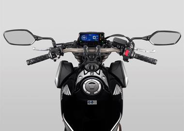 Leihmotorrad Honda CB650R