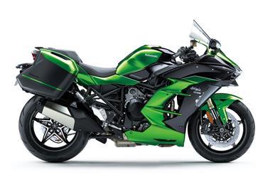 Leihmotorrad Kawasaki Ninja H2 SX SE