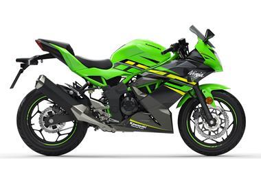 Leihmotorrad Kawasaki Ninja 125