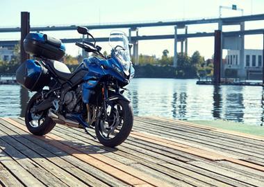 Leihmotorrad Triumph Street Scrambler
