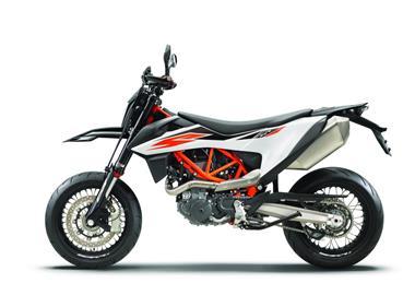 Leihmotorrad KTM 690 SMC R