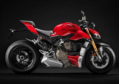 Leihmotorrad Ducati Streetfighter V4 S