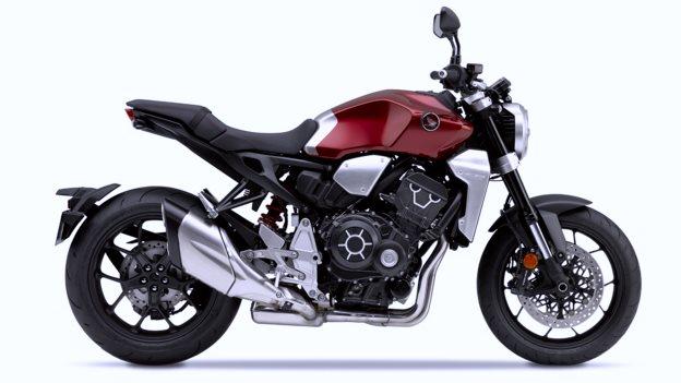 Verleihmotorrad Naked Bike CB 1000 R vom Händler Motorrad