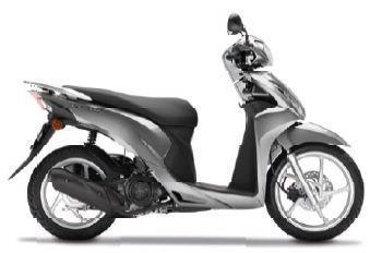 Leihmotorrad Honda Vision 50