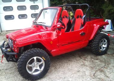 Leihmotorrad Quadix Buggy 800