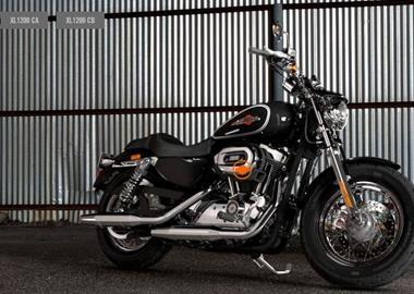 Leihmotorrad Harley-Davidson Sportster XL 1200C Custom