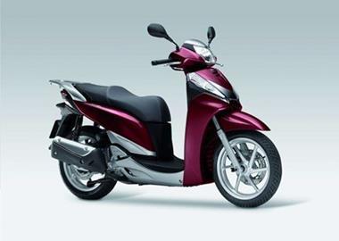 Leihmotorrad Honda SH300i