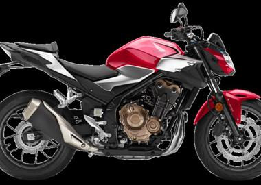 Leihmotorrad Honda CB 500 F