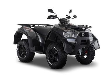 Leihmotorrad Kymco MXU 700 EXi