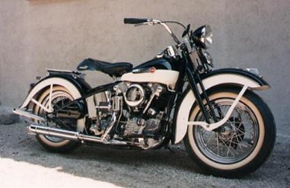 Harley-Davidson Knuckle F Custom Bike