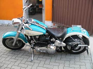 Harley-Davidson Softail Fat Boy FLSTF Custom Bike